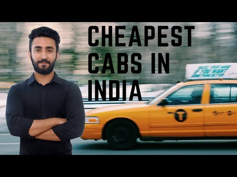 Cheapest  cabs in India