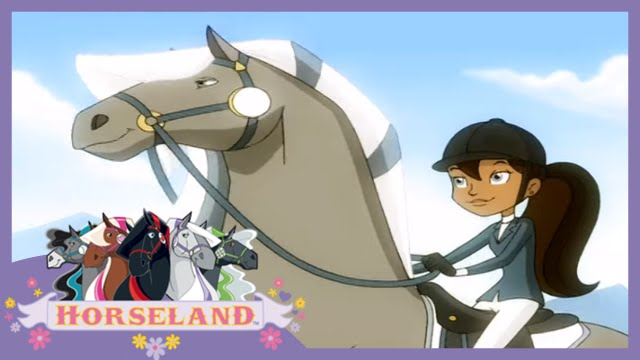 Horseland: A Horse Named River // Season 2, Episode 5 Horse Cartoon 🐴💜