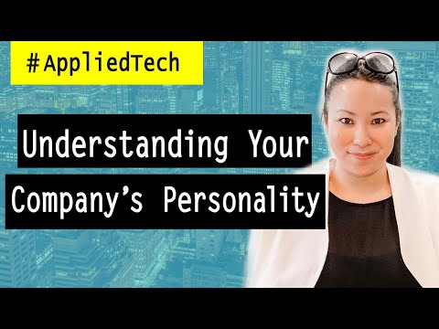 Understanding Your Company's Personality