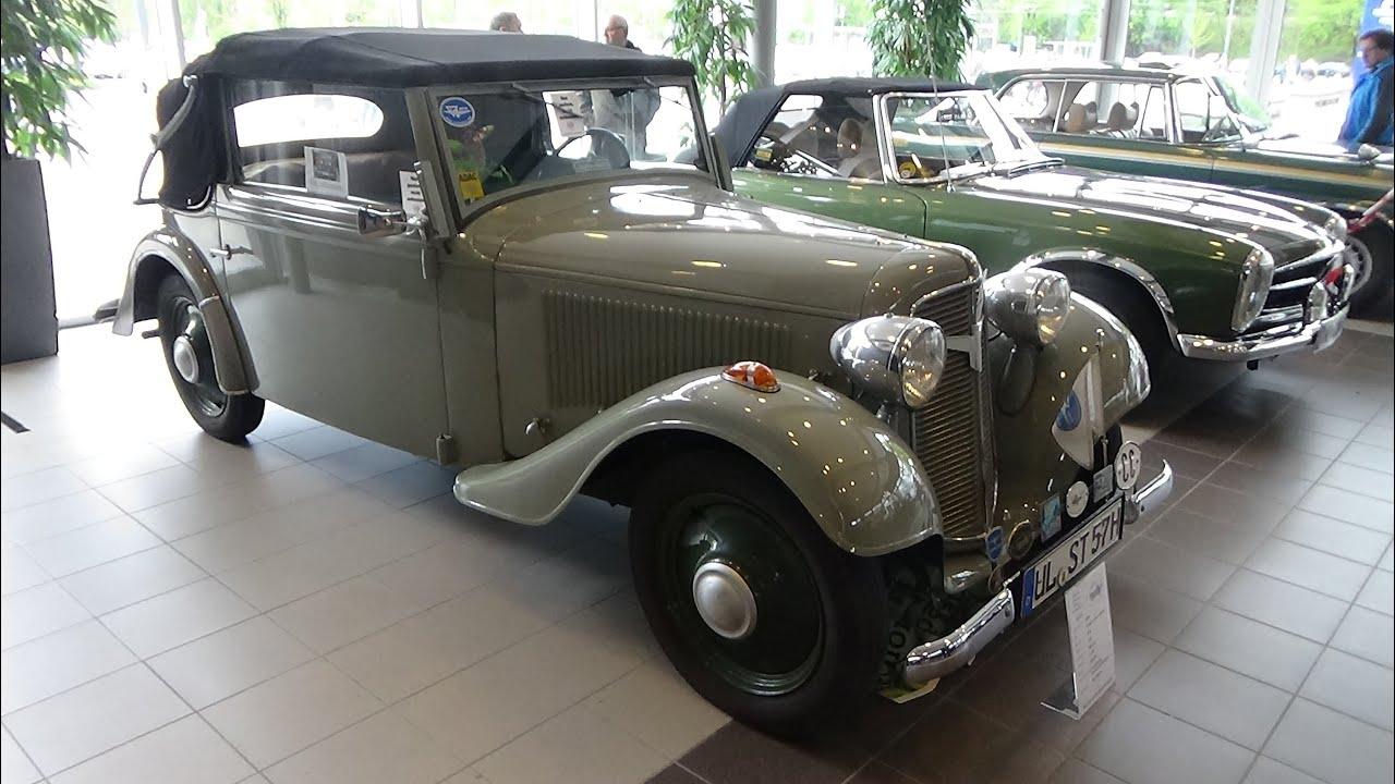 1935 adler trumpf junior cabrio technorama ulm 2015. Black Bedroom Furniture Sets. Home Design Ideas