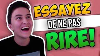 ESSAYEZ DE NE PAS RIRE! - Vidéo Drôle (le Vendredi des Vrais!)