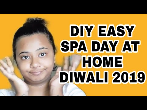 DIY EASY SPA DAY AT HOME | DIWALI SKINCARE | NEELAM MP