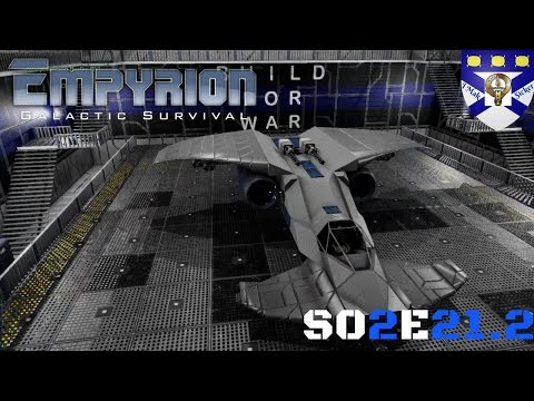 """Empyrion Galactic Survival (S02) -Ep 21.2 """"Hammerhead SV Complete p4"""" -Multiplayer """"Let's Play"""""""