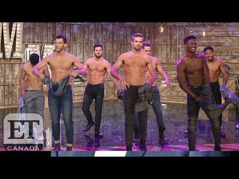 Channing Tatum Surprises Audience With 'Magic Mike Live' Peek On Ellen