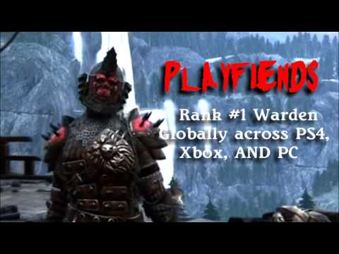 Playfiends - Rank 1 Warden In the World (For Honor Season 1)
