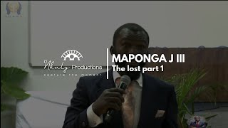 JOSHUA MAPONGA III  THE LOST PART 1