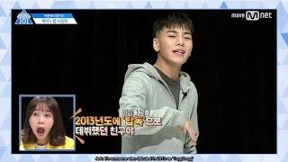 Video [ENG SUB] 170407 PRODUCE 101 'Countdown 101' Rap Pick - Justin, Woo Jinyoung, Kim Sanggyun download MP3, 3GP, MP4, WEBM, AVI, FLV Juli 2017