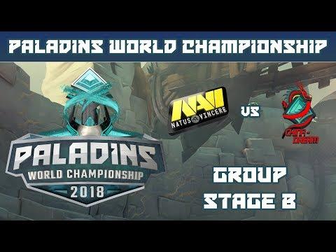 Paladins World Championship 2018: Group Stage B - Natus Vincere vs. CN Dream