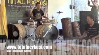 """Total Per Berbagi klik#2 part2 """"Kuntulan Banyuwangi untuk Drumset"""""""