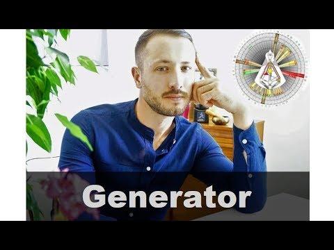 Гениратор 2 -рой Тип  ДИЗАЙНА ЧЕЛОВЕКА