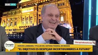 Hernán Lombardi vs Cristina: