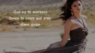 Selena Gomez - Dices Letra/Lyrics (Who Says Spanish Version)
