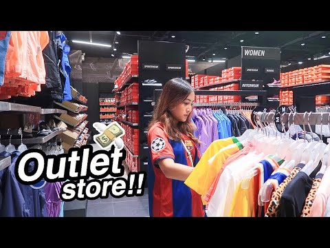 Shop with Me: OUTLET STORE + HAUL 💸 | Ry Velasco