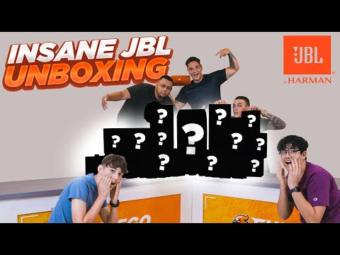The Biggest Unboxing Video ever presented by JBL, IS THIS CHRISTMAS?!