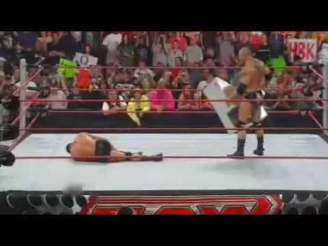 Batista vs Randy orton 2009