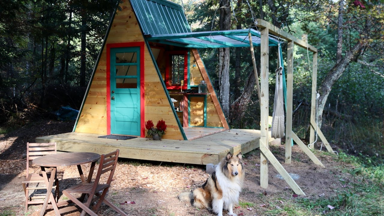 Download Transforming A-Frame CABIN in 23 days..... & RUMOURS on the record player