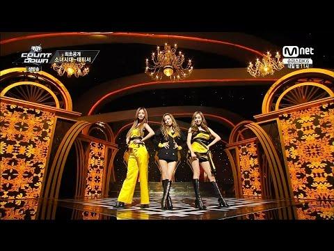 [FULL HD 1080P] 140918 SNSD TTS 태티서 Adrenaline & Holler Live @M! Countdown