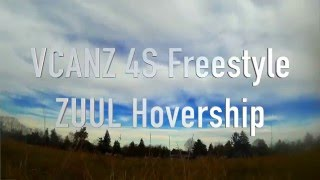 Quick Freestyle - ZUUL Quad test of VCANZ 4S 75C Batteries