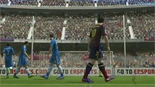 FIFA 14 FC Barcelona Vs Chelsea Gameplay PC Keyboard