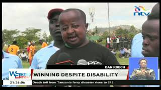 PWDs enjoy games and performances in Machakos county.