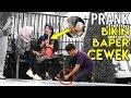 REAKSI CEWEK KETIKA DITITIPIN BUNGA BIKIN BAPER - PRANK INDONESIA
