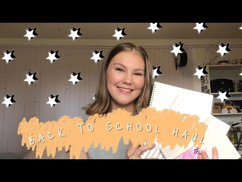 BACK TO SCHOOL SUPPLY HAUL || EVERYTHING YOU NEED FOR SCHOOL
