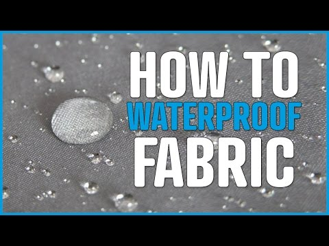 Waterproof fabric- Water and oil stain protection for fabric and textiles - awnings, parasols, tents