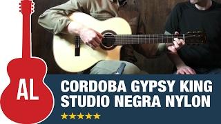 Córdoba GK Studio Negra Nylon String Guitar