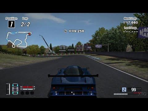 Gran Turismo 4 - Nissan R390 GT1 Road Car 98 Hybrid (B-spec) PS2 Gameplay HD