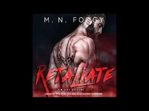 Retaliate: Sin City Outlaws, Book 3 Audiobook by M. N. Forgy