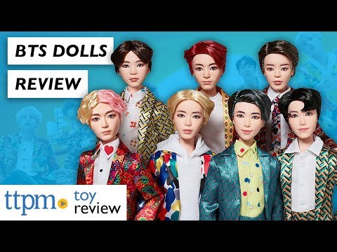 TTPM's In Depth BTS Dolls Review From Mattel