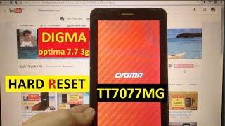 Hard reset Digma TT7077MG Сброс графического ключа digma optima 7.7 3g