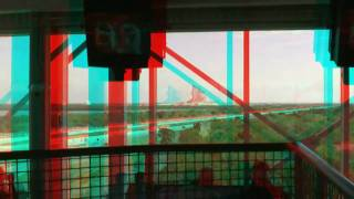 3D HD Anaglyph of NASA (Kennedy Space Center)