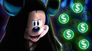 Disney Caught Stealing