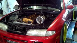 Nissan 240 S14 swapped RB25DET @ Autodream Calgary