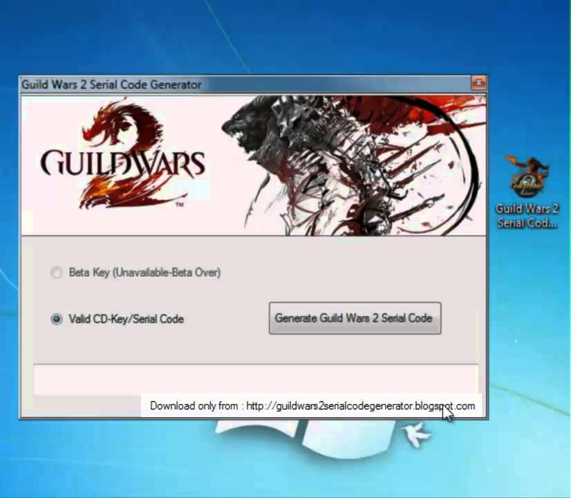 Lost guild wars 2 serial code