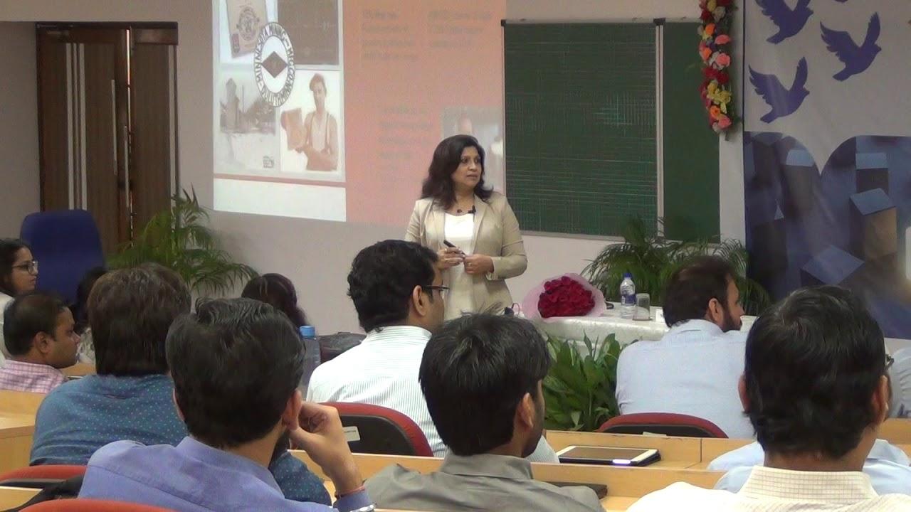 XLRI Leadership Series 2018- Ms  Debarati Sen, Managing Director, 3M India  Region - Part II