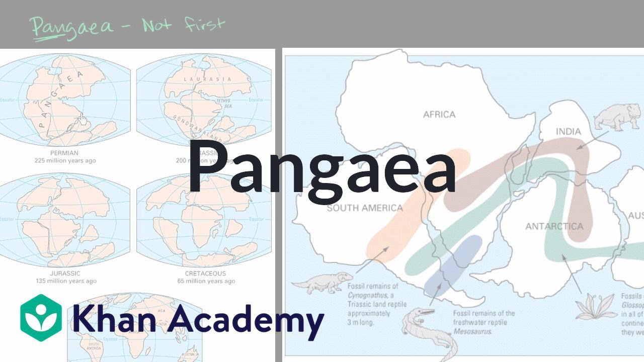 Pangaea (video)   Plate tectonics   Khan Academy [ 720 x 1280 Pixel ]