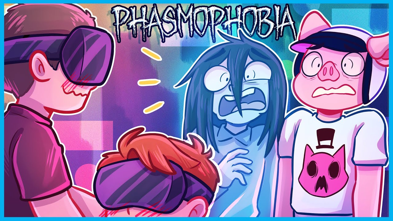 Phasmophobia but my friends in VR is what gave me nightmares...