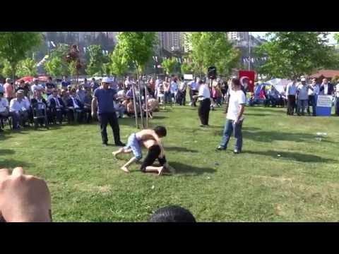 Sinop Dikmen Dernekleri Piknikleri Yağlı Güleş Genclerimiz