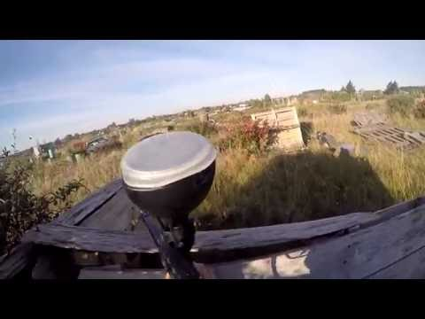 RAW GOPRO PAINTBALL | US MARINES VS URUGUAY POLICE
