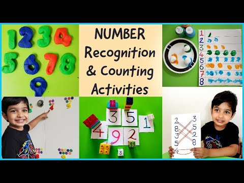 5 Fun Number Recognition and Counting Activities for Preschoolers | Learn Numbers