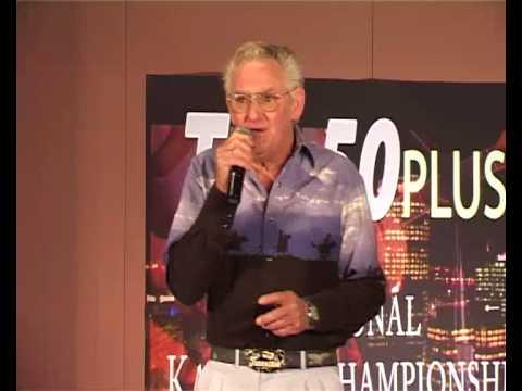 """Steve Knowles sings """"G.I Blues"""" - NZ 50+ Karaoke Champs"""