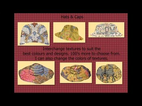 Graphic Textile Designs Part 2.