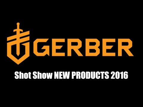 Gerber New Products | Shot Show 2016