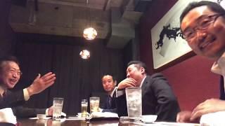 YouTube動画:【爆笑】渡辺喜美みんなの党代表主催、立花孝志代表「議員辞職」慰労会