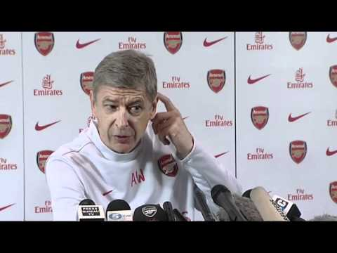 Arsenal manager Arsene Wenger rants about fixtures