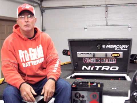 Pro guide batteries agm test results with pete wenners for Pete wenners fishing report