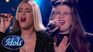KATY PERRY Sings A Duet With CATIE TURNER On American Idol 2018 Final!
