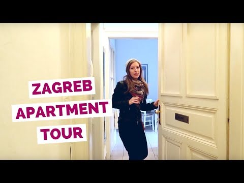 Zagreb Apartment Tour in Croatia